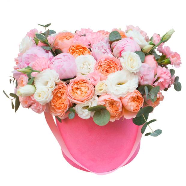 """Цветы в коробке """"Ювента"""""""